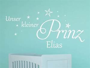 Wandtattoo Kleiner Prinz : wandtattoo kleiner prinz mit name von klebeheld de ~ A.2002-acura-tl-radio.info Haus und Dekorationen