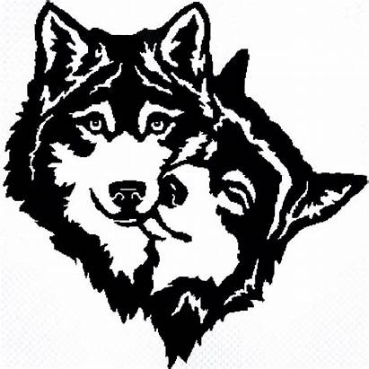Wolf Tattoo Tattoos Tribal Wolves Couple Stencil
