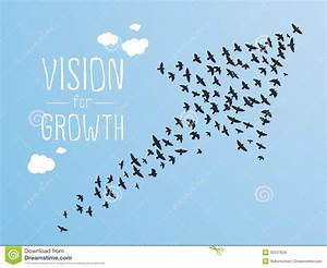 Vision For Growth Stock Vector  Image Of Crowd  Network