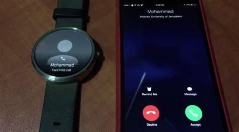 iphone smartwatch rispondere alle chiamate su iphone con uno smartwatch
