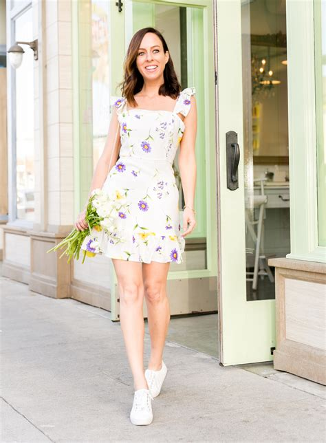 sneakers  dresses  summer outfit ideas