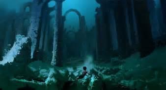 image harry potter under hogwarts lake after using