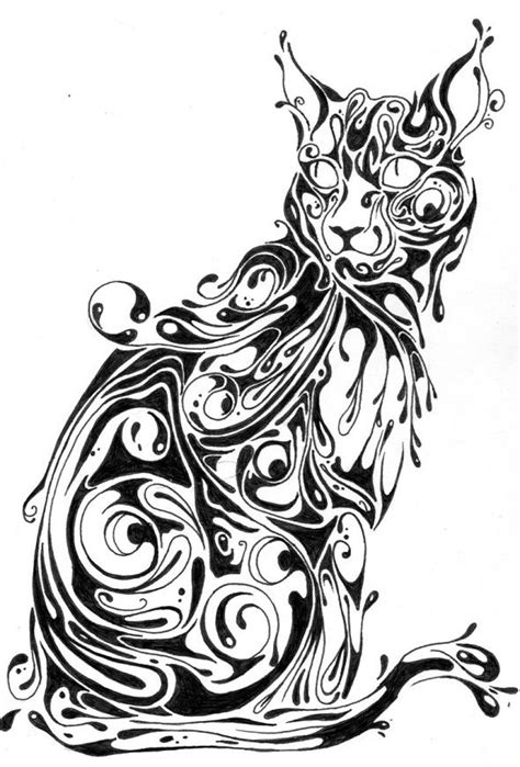 Abstract Black And White Animal Drawings by Frimmbits Si Graphic Design 16