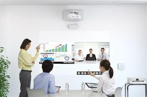 Interactive Projector Key To Sustaining Discussion In Classroom And Boardroom Newsbytes
