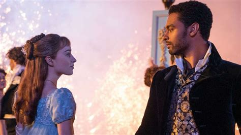'Bridgerton' stars Phoebe Dynover and Rege-Jean Page on ...