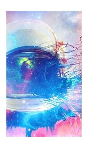 Wallpaper : colorful, illustration, abstract, astronaut ...