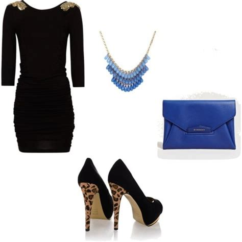 Night/Party outfit - Polyvore   We Heart It   black black dress and black shoes