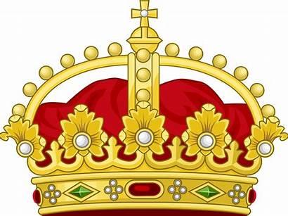 Crown King Royal Svg Wikimedia Heraldic Commons