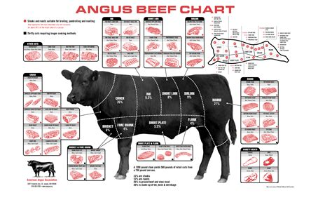beef chart our certified angus beef the caroline