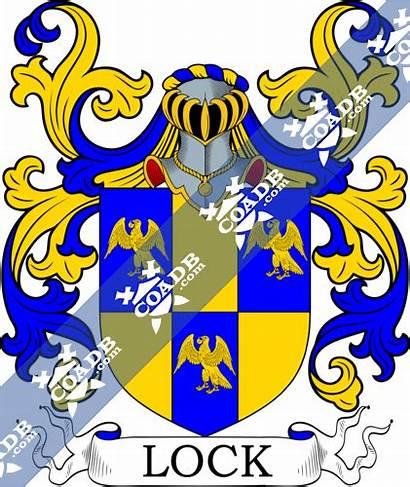 Lock Arms Crest Coat History Gray Nocrest