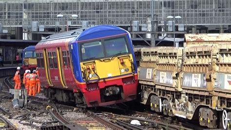 Train Crash At London Waterloo