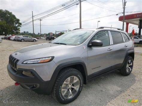 jeep silver 2016 2016 billet silver metallic jeep cherokee trailhawk 4x4
