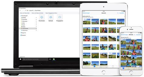 icloud fotomediathek auf ihrem windows pc einrichten und