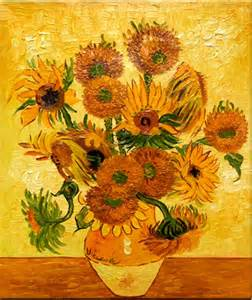Still Life Oil Paintings Sunflowers