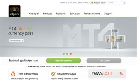 alpari forex trading platform alpari metatrader for android honeycomb munasenoba web