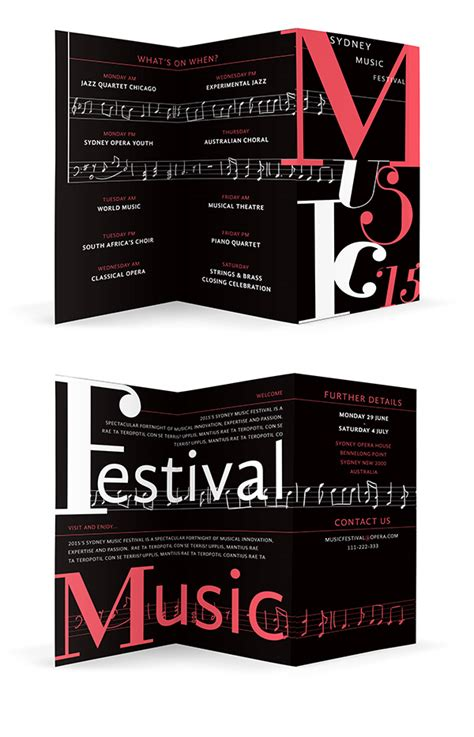 how to create a high impact typographic brochure in adobe
