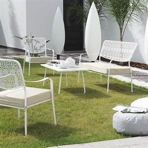 Salon Jardin Pas Cher : salon jardin en teck pas cher uteyo ~ Dailycaller-alerts.com Idées de Décoration