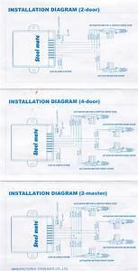 Steelmate Central Locking  U0026 Remote Install