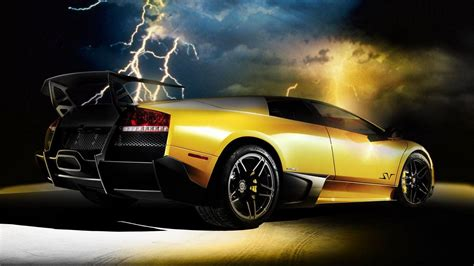 Gold Cars Wallpapers