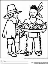 Coloring Pages Pilgrim Thanksgiving Pilgrims Sheets Printable Indian Indians Native American Worksheets Preschool Print Paper Drinks Printables Crafts Activities Ginormasource sketch template
