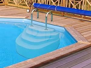 escalier de piscine d couvrez les escaliers de piscine of With hauteur marche escalier piscine