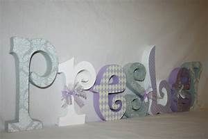 items similar to baby name letters girl wooden letters With baby name letters room decor