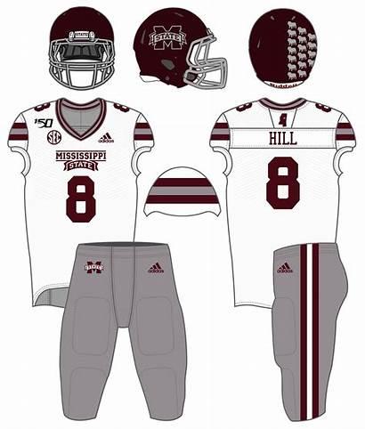Football Uniform Mississippi State Season Miss Ole