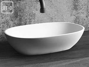 Waschbecken Oval Aufsatz : quartz aufsatz waschbecken mineralguss waschebcken ~ A.2002-acura-tl-radio.info Haus und Dekorationen