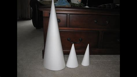 make a bid how to make a really big cone craft tutorial