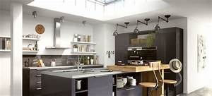 Cuisine equipee avec table integree 4 la cuisine design for Petite cuisine équipée avec meuble de salle a manger
