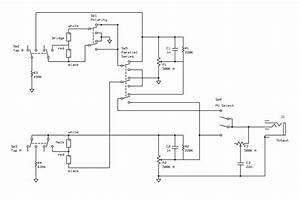 Shared Wiring Schematic  Coil Tap  Polarity  Series