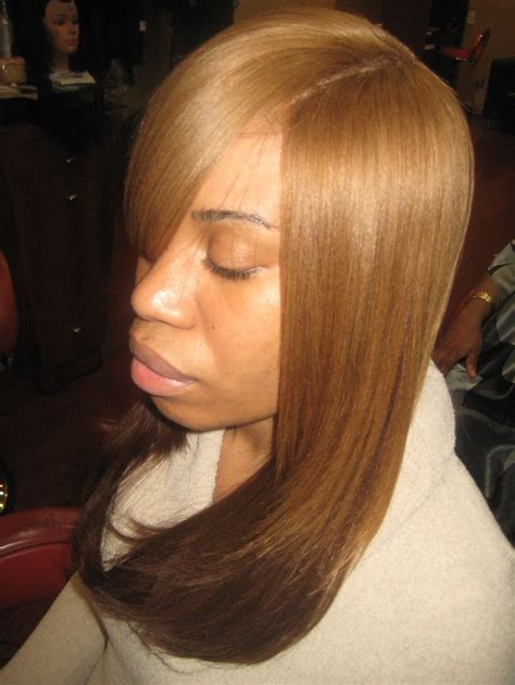 Sew In Weave Hairstyles With Invisible Part by Sewn In Hair Weave Invisible Part Weave Locks To