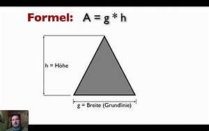 Wie Quadratmeter Berechnen : fl chenberechnung f r dreiecke youtube ~ Themetempest.com Abrechnung