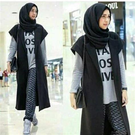 grosir pakaian wanita black outer grosir baju muslim
