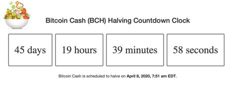 Clocks and data sites so you can monitor the 2020 halving countdowns. Get Ready for the Bitcoin Halving - Here Are 9 Countdown Clocks You Can Monitor   Bitcoin Insider