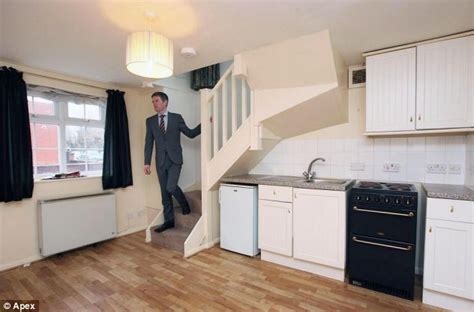2 storey garage conversion tiny two storey house that is just 13ft wide goes on the market for 163 74 950 daily mail online