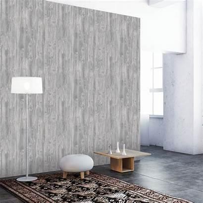 Self Adhesive Textured Woodgrain Pewter Tempaper Paper