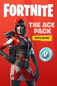 buy fortnite battle royale  ace pack microsoft store