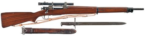U.S. Remington Model 1903-A4 Sniper Rifle with Bayonet and ...