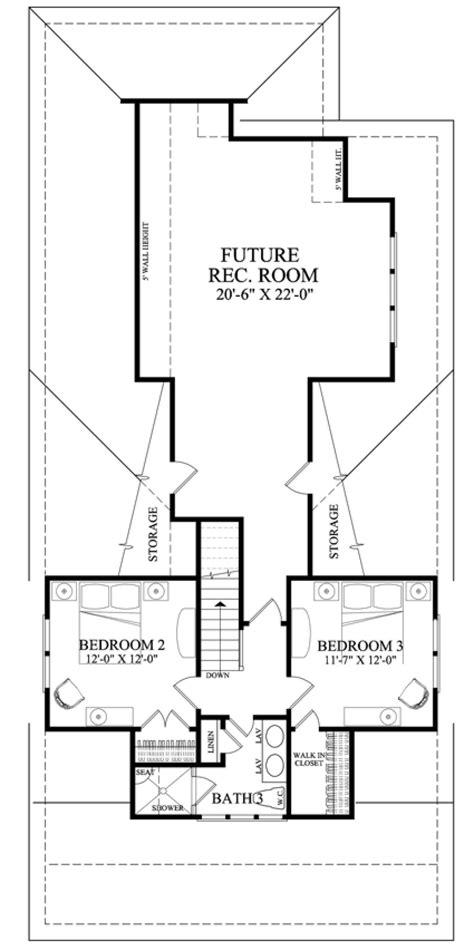 Bungalow Plan: 1 907 Square Feet 4 Bedrooms 3 Bathrooms