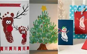 Bilder Collage Basteln : s e weihnachten bastelideen mit handabdr cken und fingerabdr cken ~ Eleganceandgraceweddings.com Haus und Dekorationen
