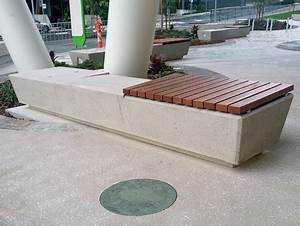 Customised Precast Concrete Seating Product ODS