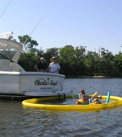 Buy A Boat Put Out Or Swim by Nettle Net Boat Pool Launching And Retrieving With A Swim
