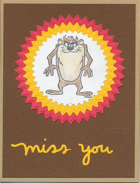 Miss you cards can come to the rescue in such a situation. Oldstamper Musings: OWH Missing You for kids challenge