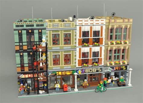 Moderne Lego Häuser by Moc Modular Oldtown Shops Book Electronic Hardware