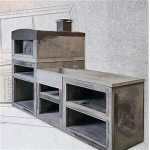 cuisine dete exterieure en pierre reconstituee sur mesure With idee pour amenager son jardin 1 des cuisines dete sur mesure pour votre jardin