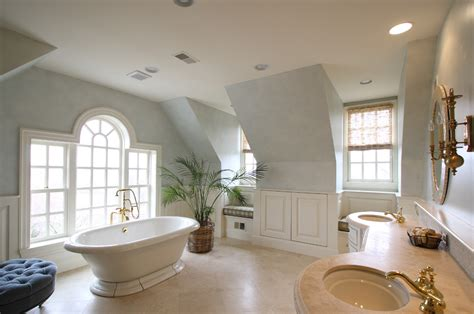 Small Master Bedroom Ideas - sophicisticated master bath with stand alone tub decobizz com