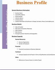 Best business profile ideas and images on bing find what youll love business profile template accmission Images