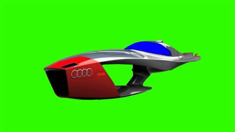 Audi Flying Car by Audi Flying Car In Green Screen Free Stock Footage