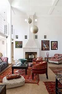 Modern Moroccan Living Room Decoration